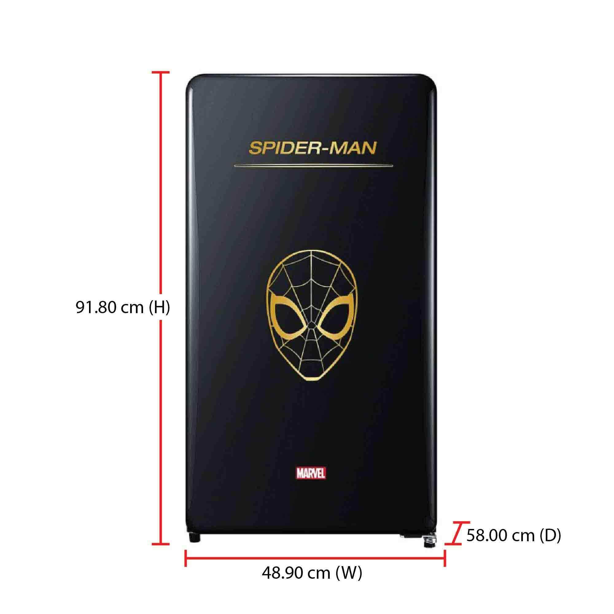 Daewoo Spiderman Fridge FN-M125SM (125L) Limited Edition Marvel Series