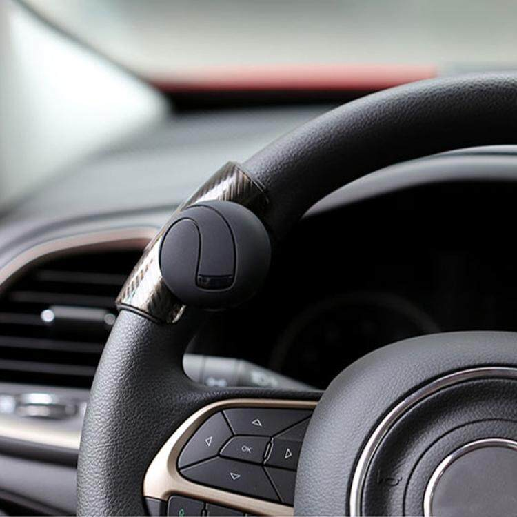 Atv,rv,boat & Other Vehicle Car Auto Steering Wheel Spinner Knob Auxiliary Booster Aid Handle Knob Black High Quality Alloy Material Easy To Install