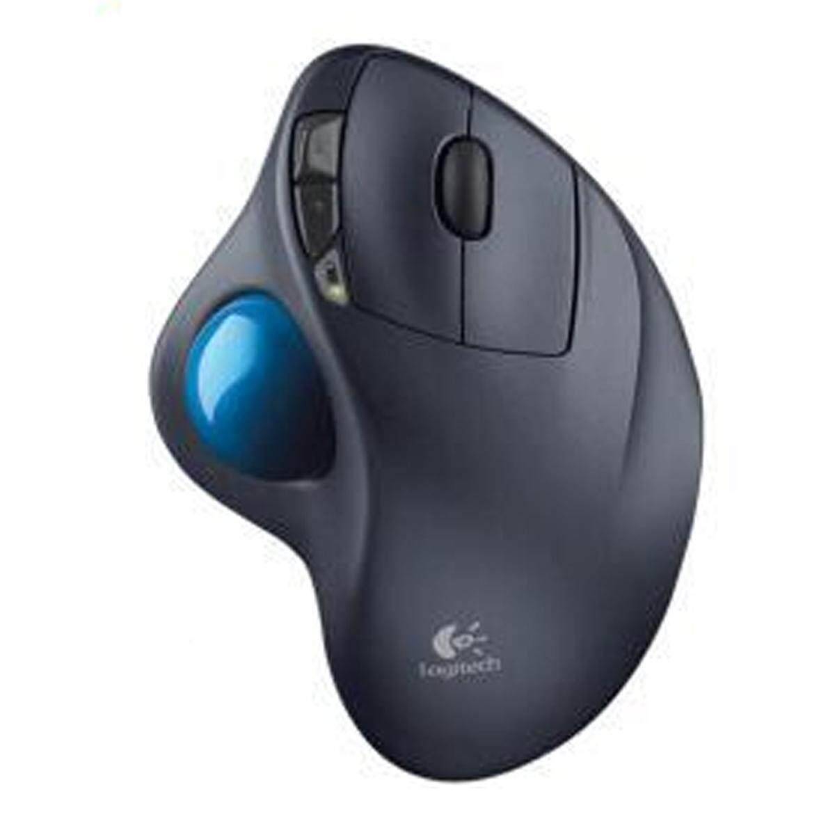 Logitech M570 2.4GHz Wireless Optical Trackball Ergonomic Gaming Mouse for Windows 10/8/7 Mac OS