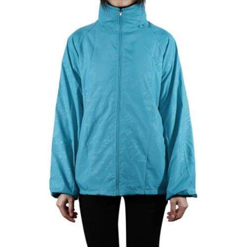 CYCLING RUNNING HIKING JACKET OUTDOOR CLOTHES WINDPROOF RAIN COAT (LAKE BLUE)