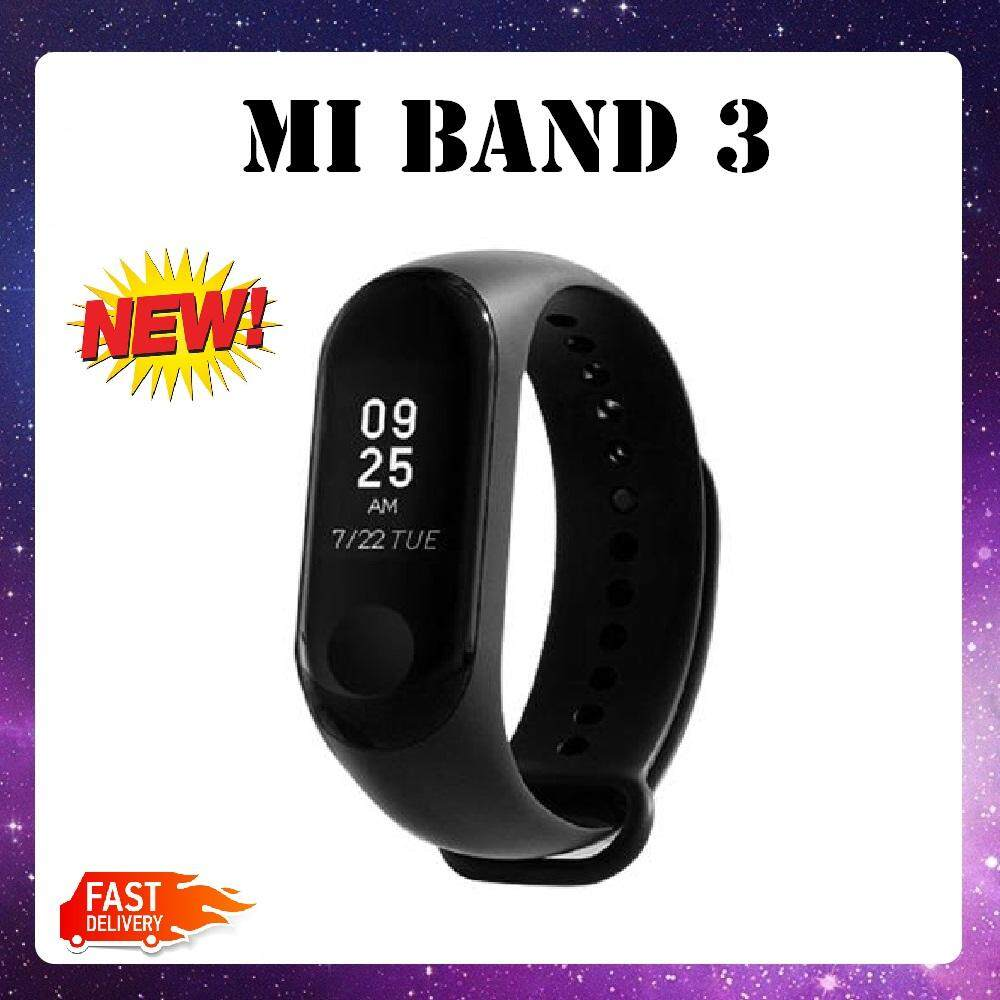 【Special Promotion】100% Original Xiaomi Mi Band 3 Heart Rate Monitor Smart Wristband With OLED Display Android IOS MIBAND2 MIBAND SPORT...