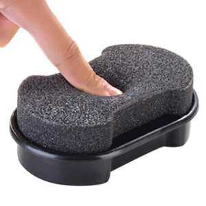 Hình ảnh Quick Shine Shoes Shine Sponge Brush Polish Dust Cleaner Cleaning Tool - intl