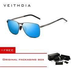 VEITHDIA Men's Vintage Sunglasses Polarized Eyewear Accessories Men/Women V2462