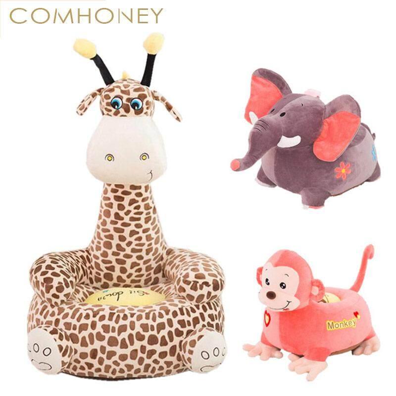 Baby Chair Bean Bag Cute Giraffe Feeding Chair Children Seat Sofa For Kids Sleeping Bed Baby Nest Puff Chair Beanbag Plush Toys