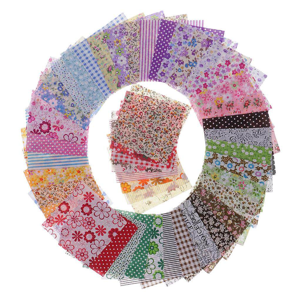 30pcs Floral Printed Cotton Fabric for Sewing Cloth Bedding Patchwork 50x5cm
