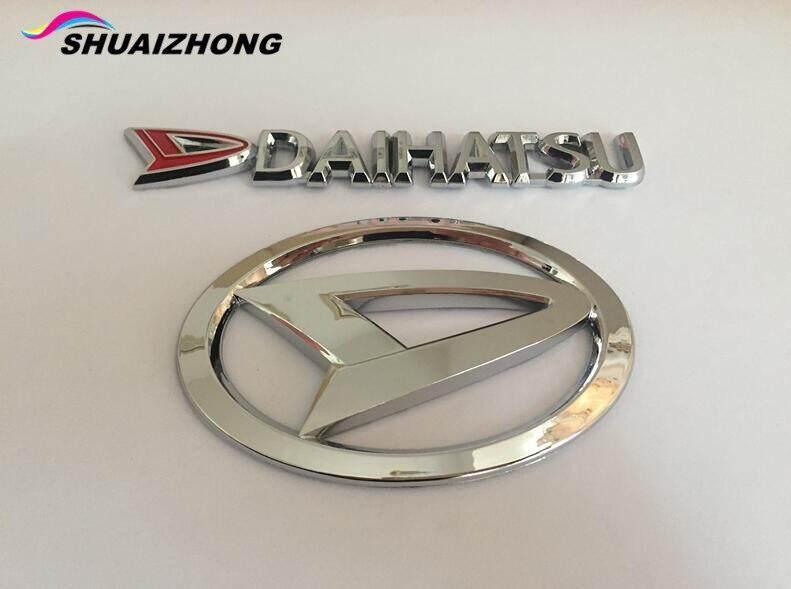 1 Pcs Daihatsu ABS Chrome Batang Belakang Mobil Stiker Emblem Stiker Lencana Decal Mobil Styling untuk Sirion Pico Bahan Copen Esse Altis