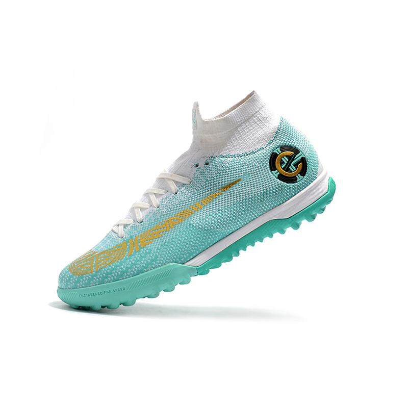48b3cbf3a 2018 High Ankle Football Boots Superfly Original Knit 360 Elite IN Men s  Soccer Shoes XII VI
