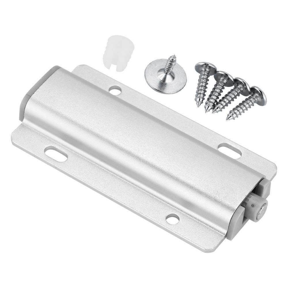 epayst Cupboard Drawer Cabinet Door Latch Push to Open System Damper Buffer Catch No Handle