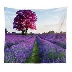 Star MallElegant Lavender Series Tapestry Wall Hanging Mural Living Room Home Decor