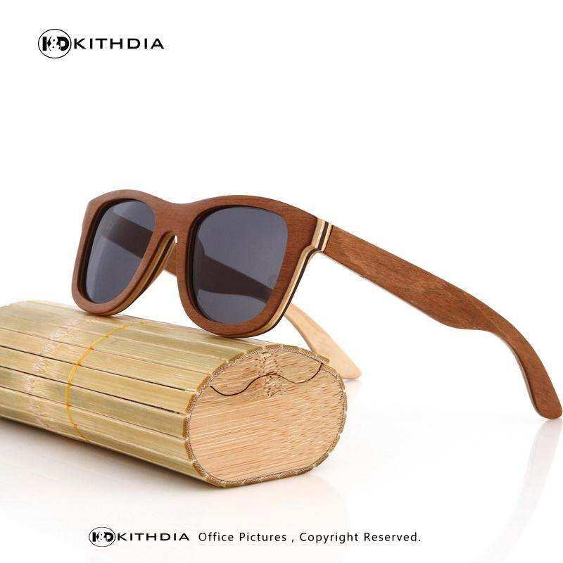 9021d4349 Ezreal Brand Designer Bamboo Sunglasses Polarized Wood For Women Men Vintage  Glasses Retro Gafas Oculos Oculos