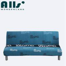 Cheap! Folding Sofa Bed Cover Stretch No Handrails Sofa Slipcover Elastic Sofa Cover No Pilling No Fading(AGPY) – intl