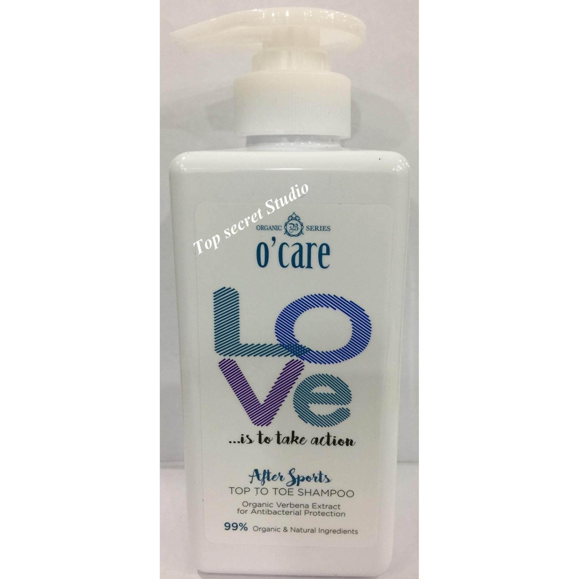 O'Care Love After Sports Top To Toe Shampoo - 500ml