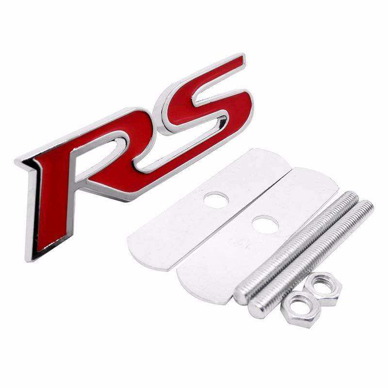 Review S Line Motorsport Logo Car Sticker Rear Trunk Emblem