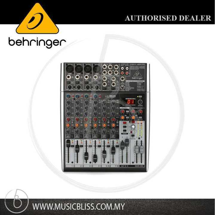 behringer xenyx x1204usb 8 channel mixer with usb and effects xenyx x1204usb lazada. Black Bedroom Furniture Sets. Home Design Ideas