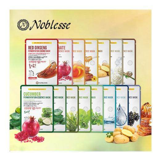 27fcd13eec02 (30Sheets) NOBLESSE Fermentation Essence Facial Sheet Mask/High  Quality/Daily Skincare/(15kind x 2pcs)