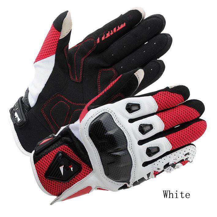 RS Taichi Summer RST391 Mens Perforated leather Motorcycle Mesh Gloves