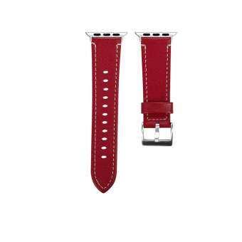 แฟชั่นหนังสายรัดข้อมือทดแทนสำหรับ Apple นาฬิกา Series1/2/3 38 มิลลิเมตร-