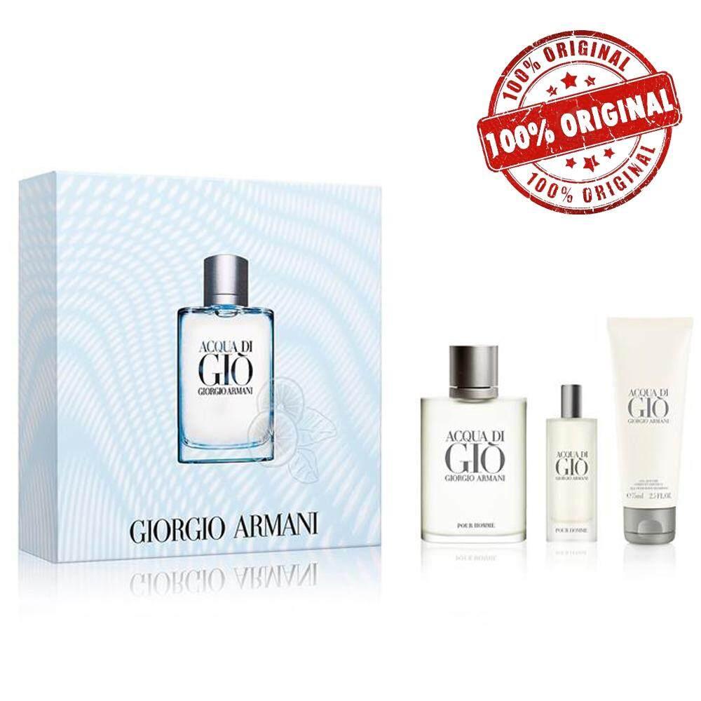ORIGINAL Acqua Di Gio EDT 100ML Perfume Gift Set