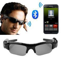 Sway Bluetooth 4.1 smart glasses HD 1080P camera glasses Can photo music riding sun glasses – intl