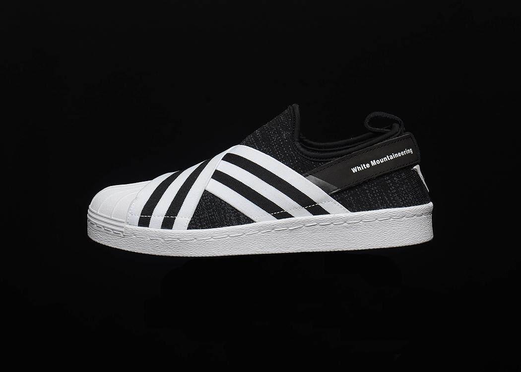 Adidas Originals SuperStar Men s Casual Lightweight Running Shoe Fashion  Sports Sneakers (White Black) 6e1c455811