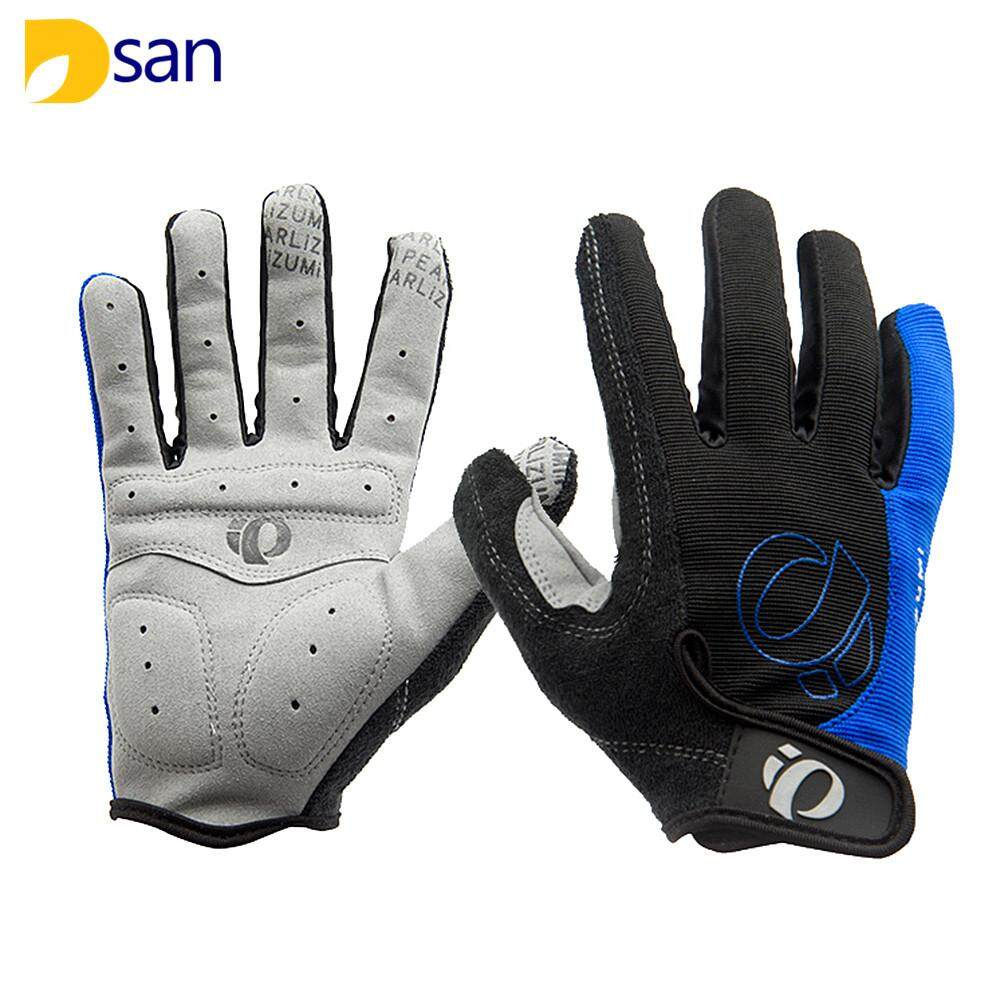 Dsan 3 Colors Cycling Gloves Full Half Finger Bicycle Gloves Men Women Sports Bike Anti Slip Gel Pad Breathable Motorcycle MTB Road Shockproof M-XL