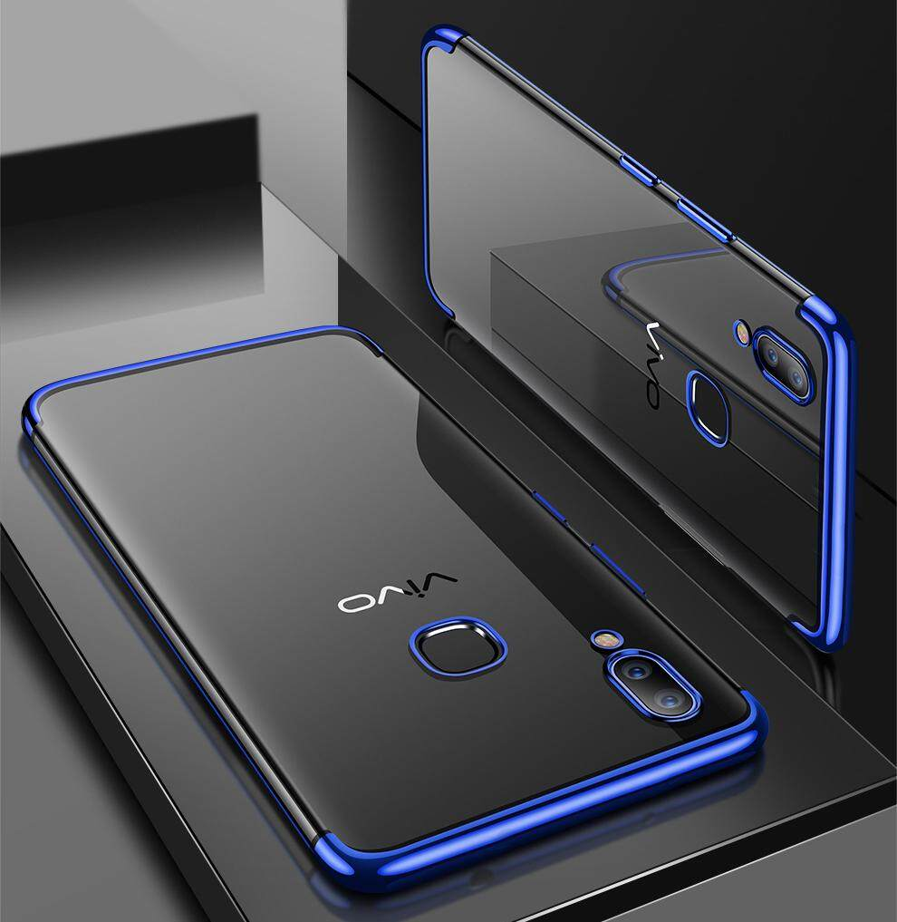 Buy Sell Cheapest Vivo V9 Shockproof Best Quality Product Deals Case Ultra Slim Clear Bumper Transparent Cover For Intl