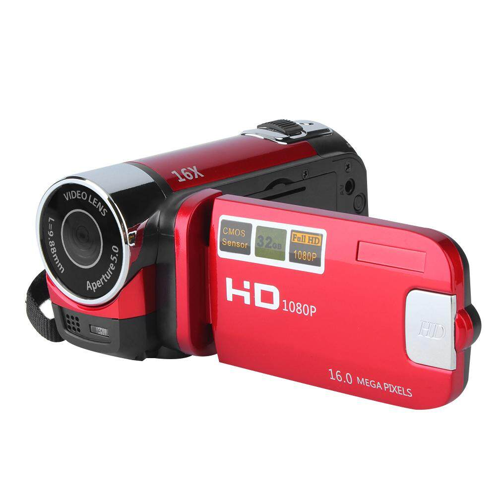 GOOD 2.7 Inch TFT LCD HD 720P Digital Video Camera Camcorder 16x Zoom DV Camera RED US