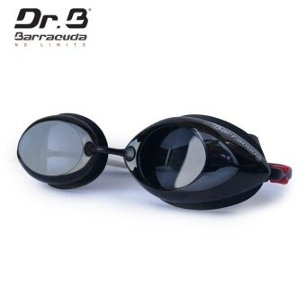 Swimming Optical Goggles Dr.B#Racer (Diopter -3.5 ForbothEyes-Black)