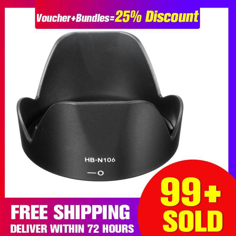Free Shipping + Super Deal + Limited OfferNew Lens Hood For Nikon D3300 D5300 D5500 AF-P 18-55mm f/3.5-5.6G VR as HB-N106