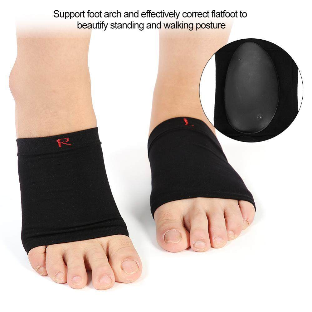 Orthotic Silicone Feet Foot Arch Support Cushion Shoe Insoles Pads Sore Relieve (L)
