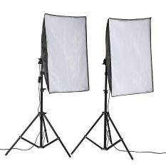 Panda Online 50x70cm Photo Studio Lighting Softbox Video Light Kit + Light Stand – intl