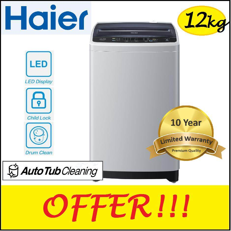 Haier HAIER 12kg Fully Automatic Washing Machine HWM120-M1202  10 YEARS  WARRANTY MOTOR  12192b6218