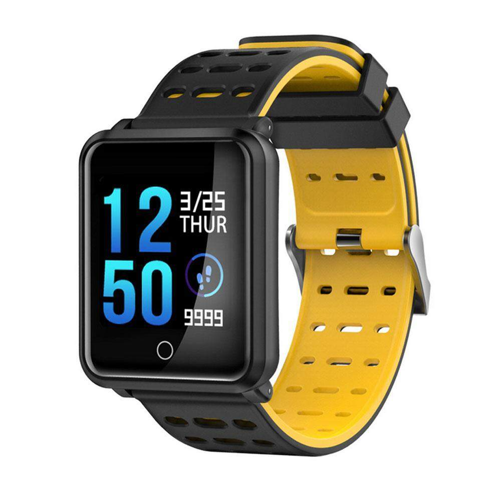 Rodeal TF2 Smart Watch Fitness Tracker With Heart Rate Monitor,Sleep Monitor Pedometer Calorie Burned Activity Tracker IP68 Wristband Watch For Android IOS Phones  สายรัดข้อมือเพื่อสุขภาพ อุปกรณ์ไอทีสวมใส่