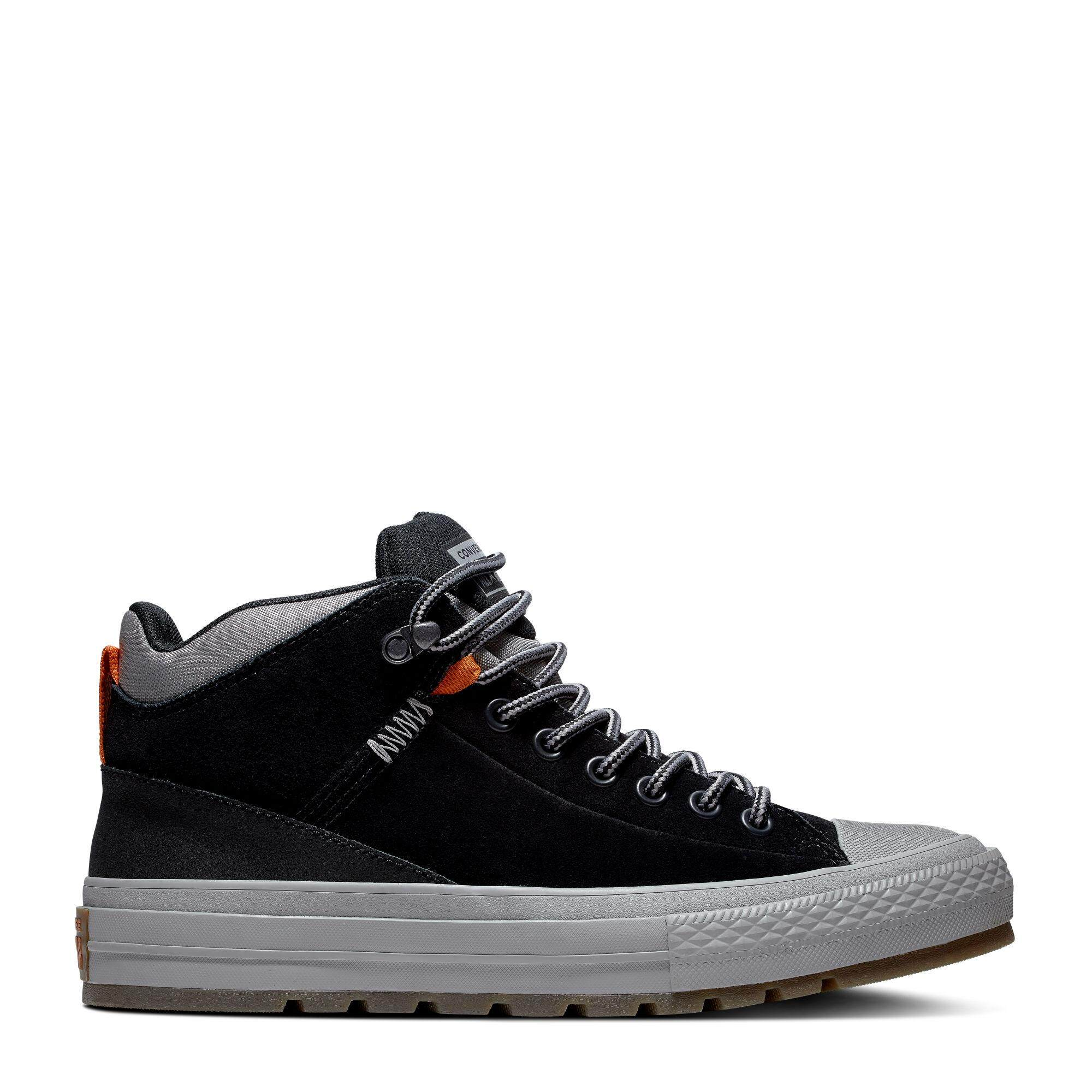 Details about Converse Chuck Taylor All Star STREET BOOT HI Unisex 162360C Sneaker Shoes 3 4Y