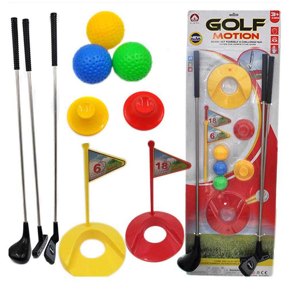 Golf Bộ Đồ Chơi Dành Cho Trẻ Em Học Hoạt Động Giáo Dục Sớm Ngoài Trời Tập Thể Dục Đồ Chơi Cho Bé Trai Và Bé Gái