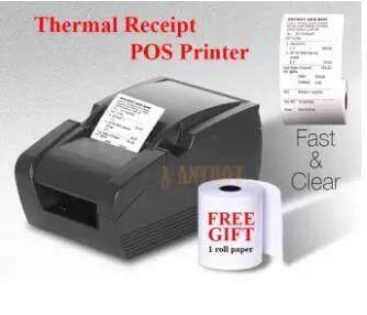 GPrinter GP-58MBIII Thermal Printer USB Port 58mm