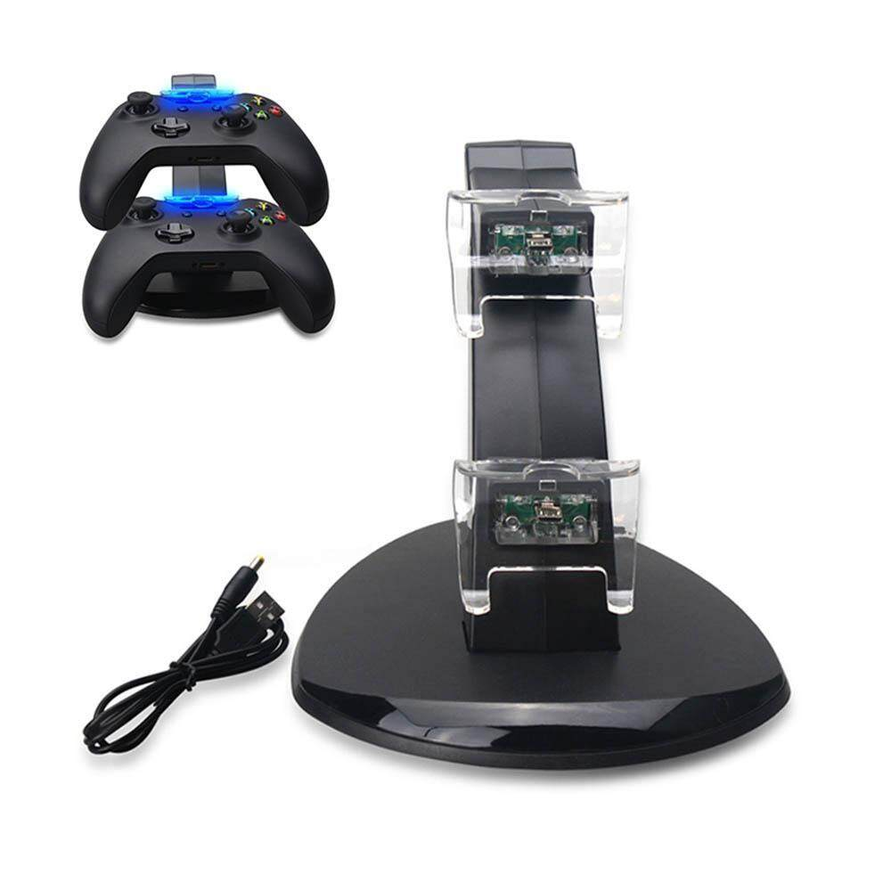 KACOO [Dual Slot] Docking/Charging Station for Xbox One Controller Charger