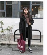 AngelCityMall Women Korean Winter Thick Coats Overcoats Outfits Outwear
