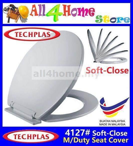 Pleasing 4127 Techplas Aqua Medium Duty Soft Close Seat Cover White Caraccident5 Cool Chair Designs And Ideas Caraccident5Info