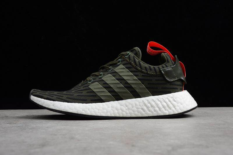outlet store 5bfa6 3a5fa Adidas NMD R2 PrimeKnit Real Boost Men s Lightweight Casual Running Shoe  Fashion Sports Sneakers (White