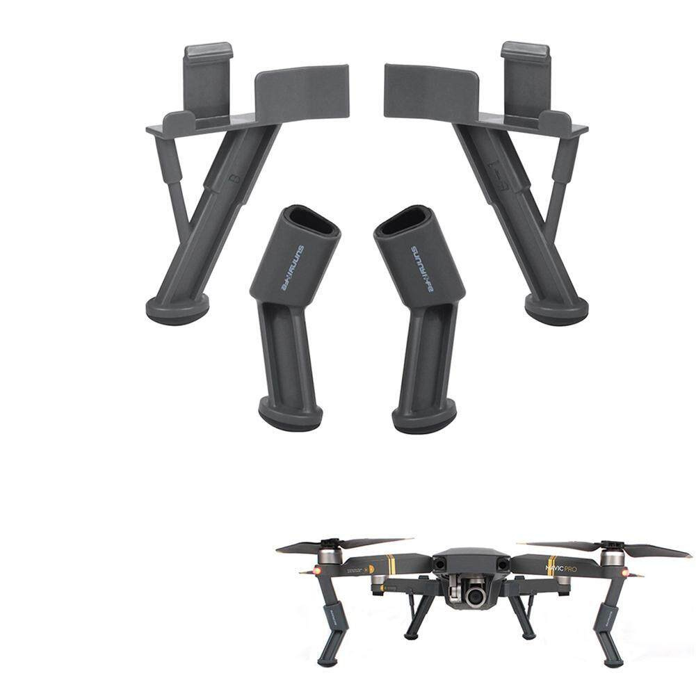 Sunnylife DJI Mavic Pro Series Upgraded Heightened Landing Gears Stabilizers Landing Leg Skids Shockproof Anti-