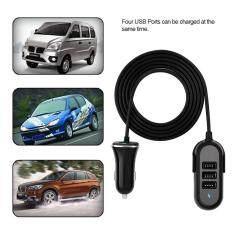 So sánh giá 5.8A Universal Mini Car Kit Charger 4x USB Ports Portable Fast Charge Car Charger Tại Sweatbuy
