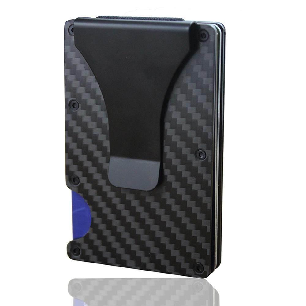 05d29c415c5 GoodGreat Carbon Fiber Slim Wallet ,Carbon Fiber Minimalist Wallet-Ffid  Blocking-Slim Wallet for Men And Women