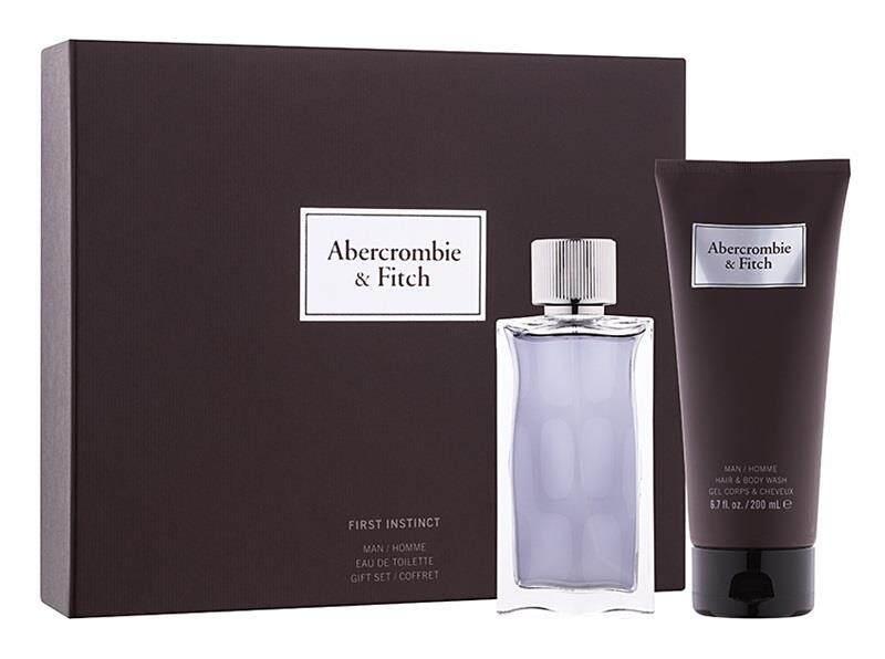 ORIGINAL Abercrombie & Fitch First Instinct EDT 100ML Perfume Gift Set
