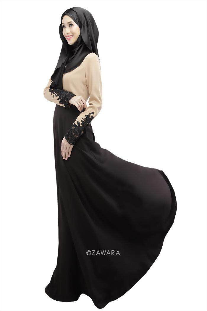Muslimah Jubah The Muslim new color dress lace cuffs
