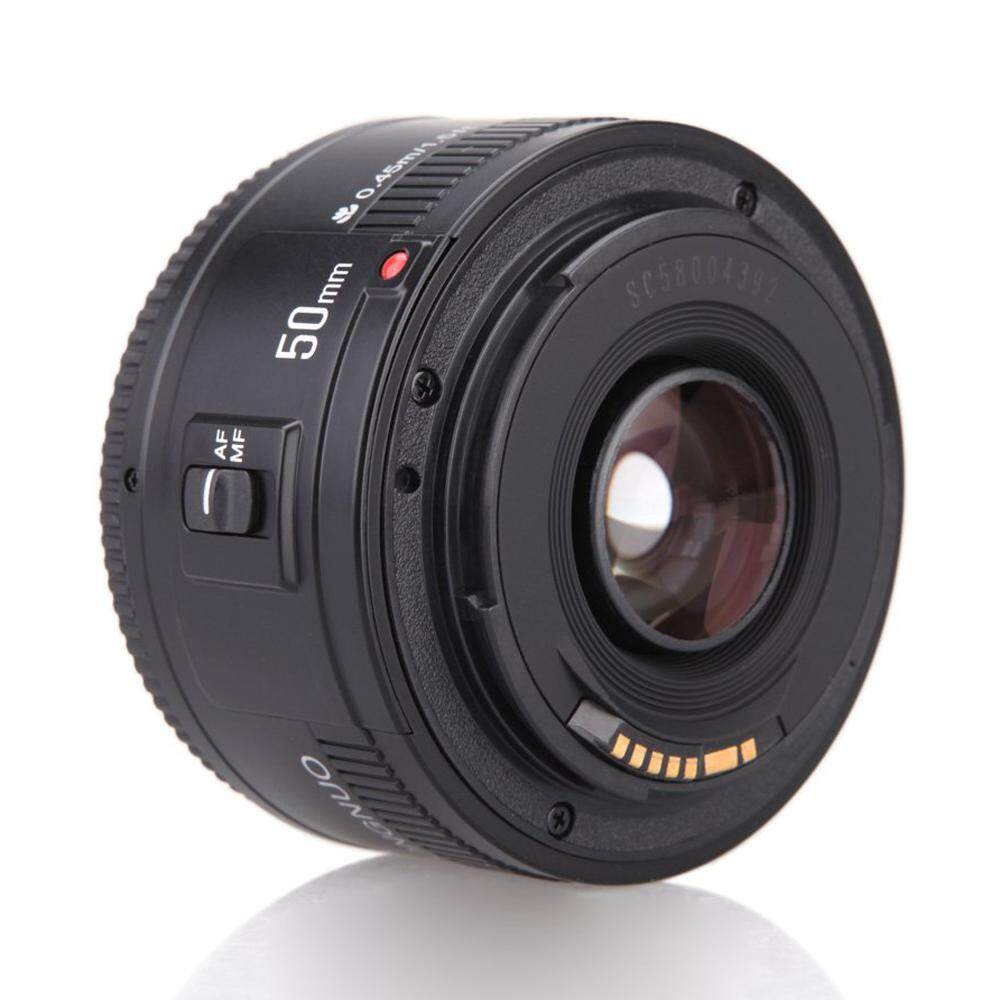 Free Shipping YONGNUO YN EF 50mm f/1.8 AF Lens 1:1.8 Standard Prime Lens Aperture Auto Focus for Canon EOS DSLR Cameras
