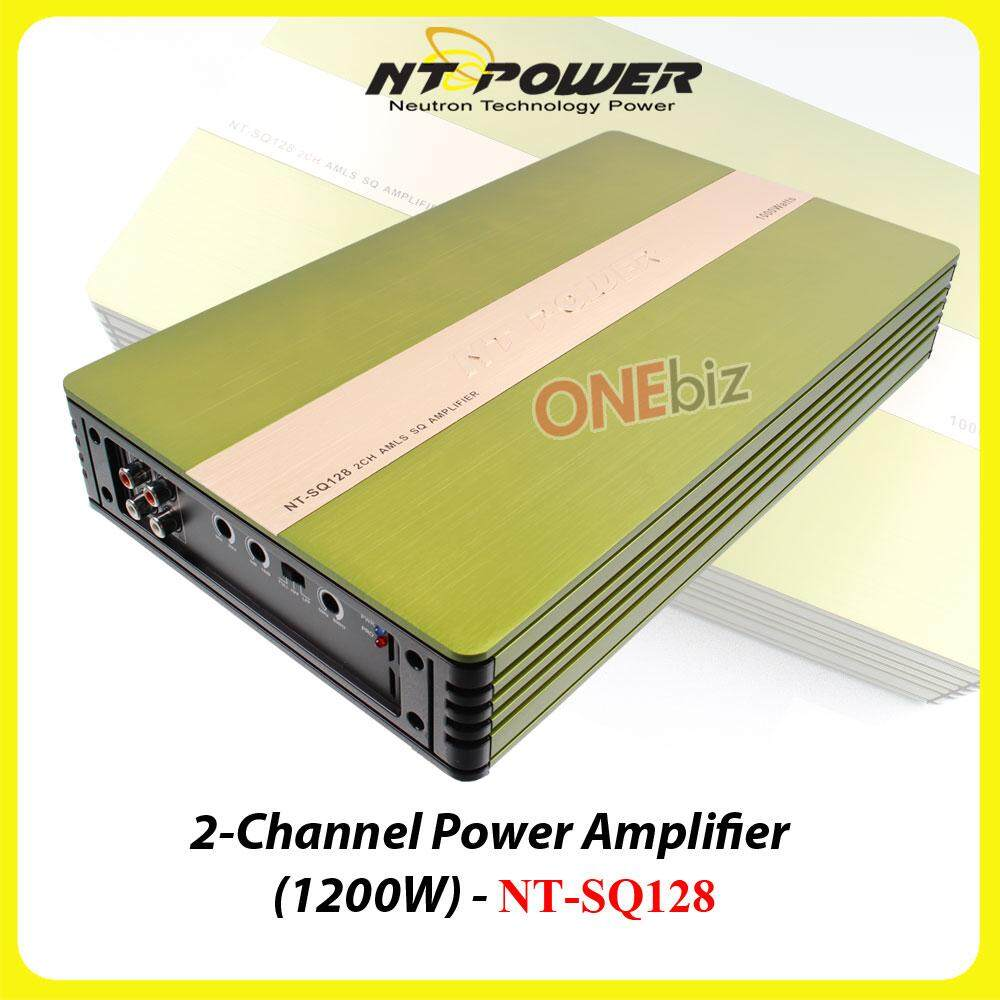 NT power 4-Channel power amplifier(1200w) - NT-SQ128
