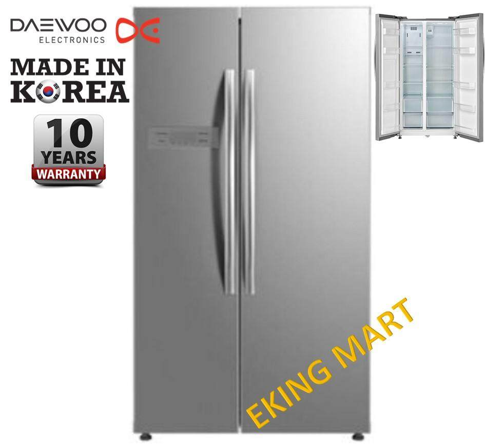 Daewoo Korea Energy Save 525Liter Side by Side 2 Door Refrigerator/Fridge FPN-X580SE
