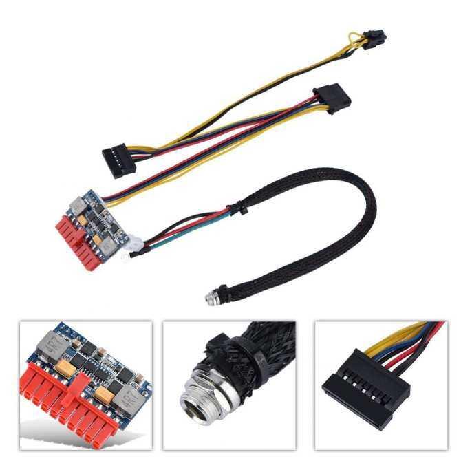 Power Supply Module 120W 20Pin ATX Power Supply Switch Module Board PSU DC 12V Input for MINI PC/ POS/ ITX - intl