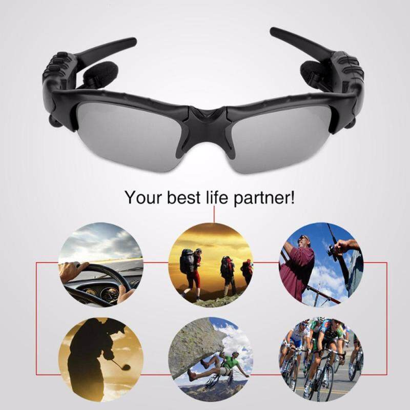 ... Mirval HBS Sport Stereo Wireless Bluetooth 4.1 Headset Telephone Driving Sunglasses/mp3 Riding Eyes Glasses ...